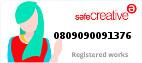 Safe Creative #0809090091376