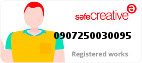 Safe Creative #0907250030095