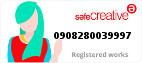 Safe Creative #0908280039997