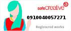 Safe Creative #0910040057271