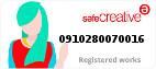 Safe Creative #0910280070016