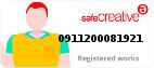Safe Creative #0911200081921