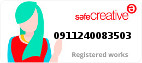 Safe Creative #0911240083503