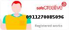 Safe Creative #0911270085096