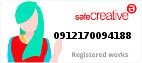 Safe Creative #0912170094188