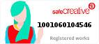 Safe Creative #1001060104546