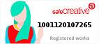 Safe Creative #1001120107265