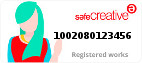 Safe Creative #1002080123456