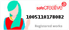 Safe Creative #1005110178082
