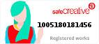 Safe Creative #1005180181456