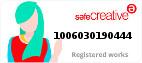 Safe Creative #1006030190444