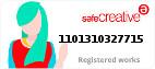 Safe Creative #1101310327715