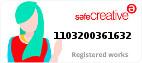 Safe Creative #1103200361632