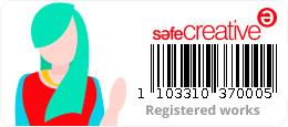 Safe Creative #1103310370005