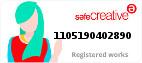 Safe Creative #1105190402890