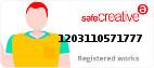 Safe Creative #1203110571777