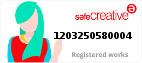 Safe Creative #1203250580004