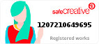 Safe Creative #1207210649695