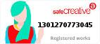 Safe Creative #1301270773045