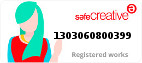 Safe Creative #1303060800399 Yolanda Olmedo