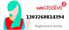 Safe Creative #1303260814394