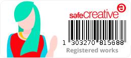 Safe Creative #1303270815688