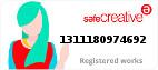 Safe Creative #1311180974692