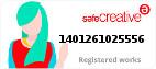 Safe Creative #1401261025556
