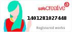 Safe Creative #1401281027448