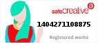 Safe Creative #1404271108875