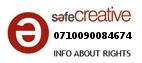 Safe Creative #0710090084674