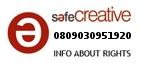 Safe Creative #0809030951920