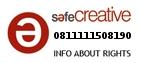 Safe Creative #0811111508190