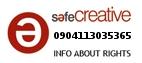 Safe Creative #0904113035365