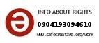Safe Creative #0904193094610