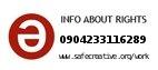 Safe Creative #0904233116289