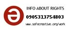 Safe Creative #0905313754803