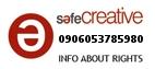 Safe Creative #0906053785980