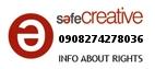 Safe Creative #0908274278036