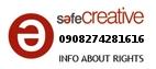 Safe Creative #0908274281616