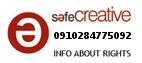 Safe Creative #0910284775092