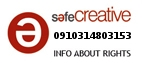 Safe Creative #0910314803153