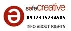 Safe Creative #0912315234585