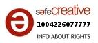 Safe Creative #1004226077777