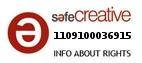 Safe Creative #1109100036915