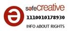 Safe Creative #1110010178930
