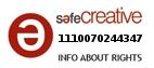 Safe Creative #1110070244347
