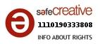 Safe Creative #1110190333808