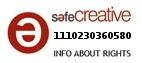 Safe Creative #1110230360580
