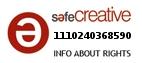 Safe Creative #1110240368590